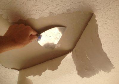 damaged ceiling repair