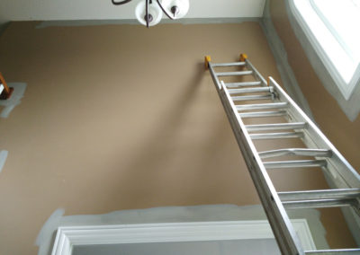ladders-for-stairs-painting-how-to-paint-high-ceilings-over-stairs-video-extension-ladder-wall-painting