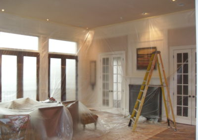 Living Room Repaint Mankato paint contractor